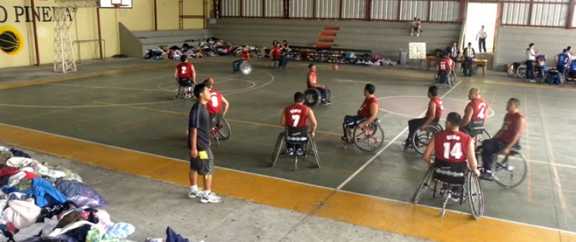Wheelchair Basketball in El Salvador