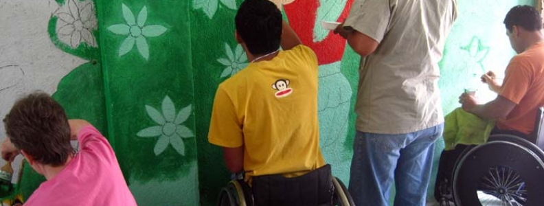 Volunteers Pitch in to Paint Special Education Classroom