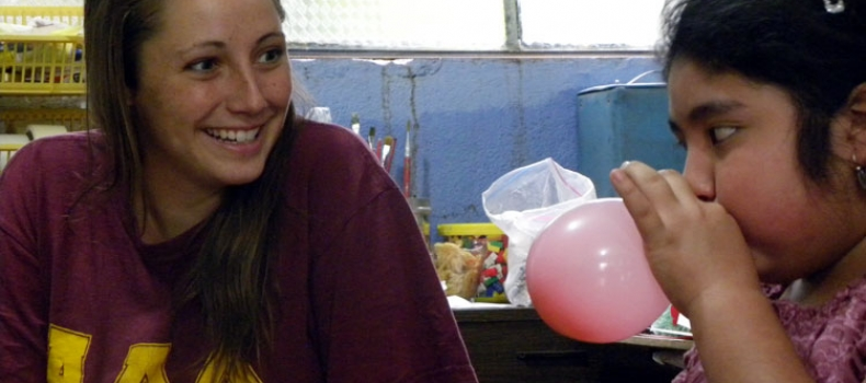 Classroom volunteer reflects on her first month with the kids