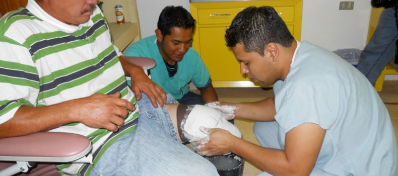 Prosthetic sponsorship changes Edmar's life