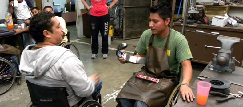 CAF sponsors a running prosthetic for Fredy