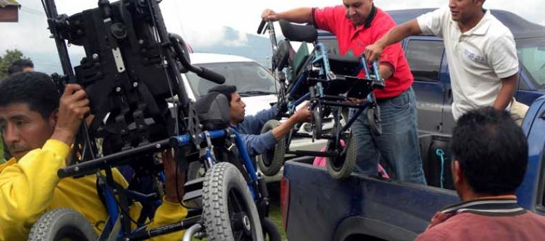 Transitions distributes 24 sponsored wheelchairs